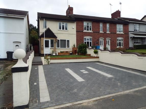 Thumbnail End terrace house for sale in Stafford Road, Huntington, Cannock, Staffordshire