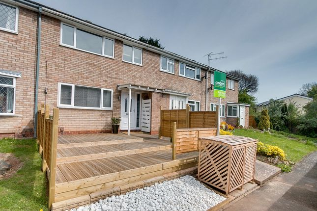 Thumbnail Terraced house for sale in Tredington Close, Woodrow, Redditch