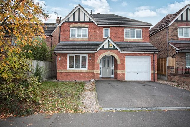 Thumbnail Detached house for sale in Hatters Court, Bedworth