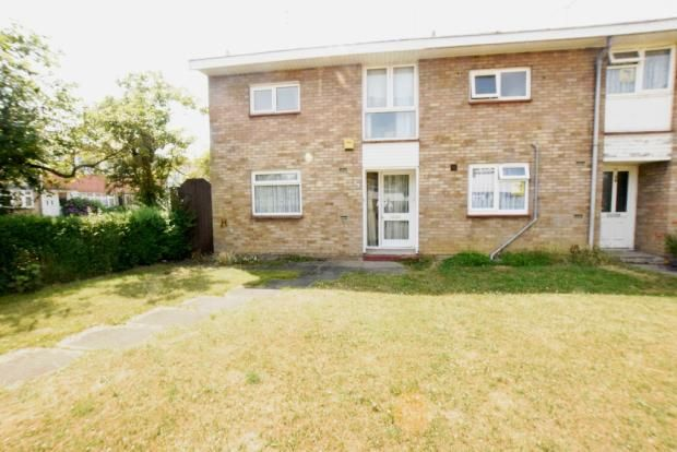 Thumbnail End terrace house for sale in Woolmer Green, Basildon