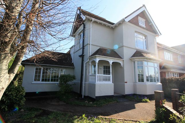Thumbnail Detached house to rent in Topsham Road, Exeter