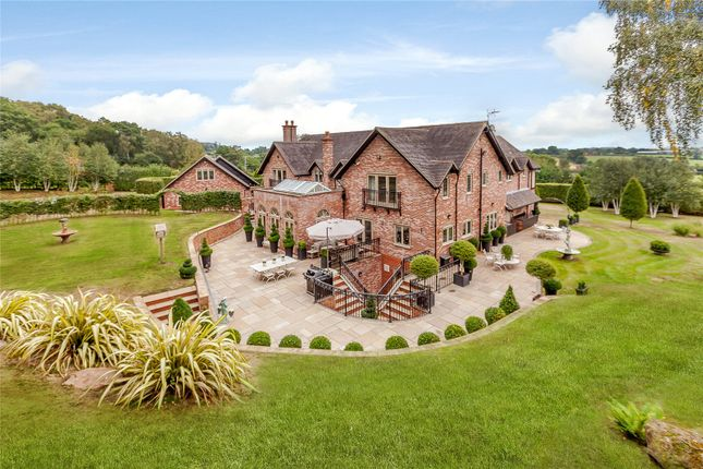 Thumbnail Detached house for sale in Bickerton, Malpas, Cheshire