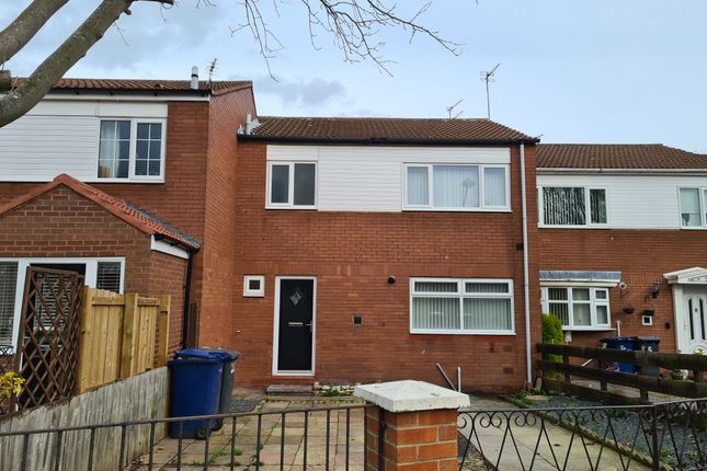 Thumbnail 3 bed terraced house to rent in Tees Court, South Shields