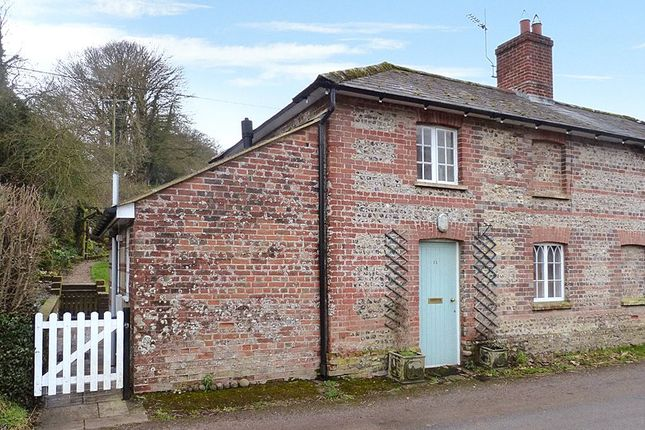 Thumbnail Semi-detached house to rent in Turnworth, Blandford Forum, Dorset