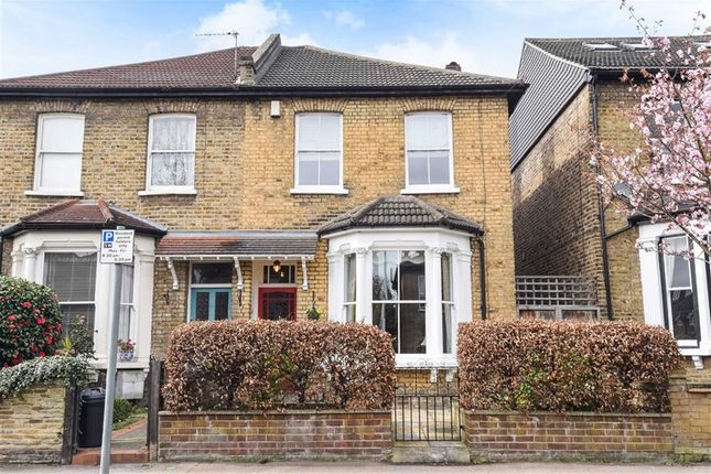 Thumbnail Semi-detached house for sale in Cleveland Road, South Woodford, London