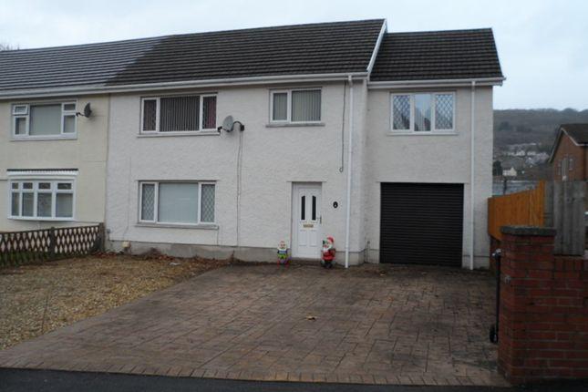 Thumbnail Property for sale in Ffordd Glandwr, Ystalyfera, Swansea
