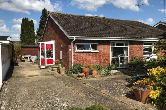 Thumbnail Semi-detached bungalow for sale in Stubble Close, Kingsthorpe, Northampton