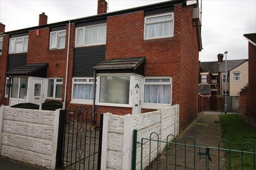 Thumbnail 2 bed end terrace house to rent in Dale Street, Stoke On Trent