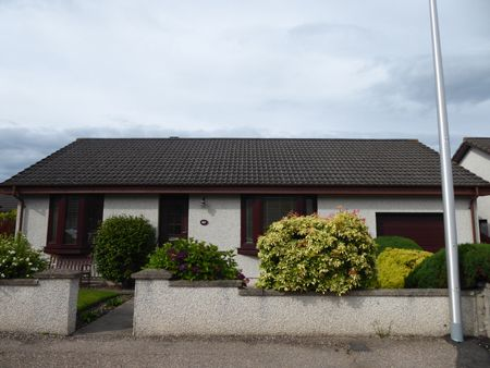 Thumbnail Detached bungalow for sale in Balnacoul Road, Mosstodloch
