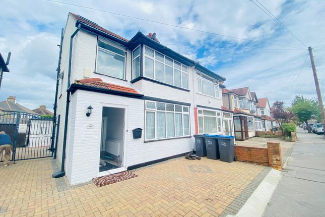 Thumbnail Semi-detached house to rent in Northway Road, Addiscombe, Croydon