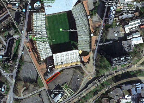 Twelve Car Parking Spaces, Molineux Stadium, Molineux Street, West Midlands WV1