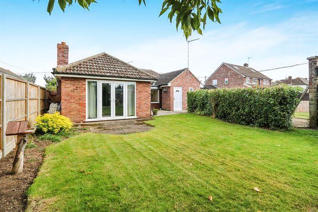 Thumbnail Detached bungalow for sale in North Terrace, Mildenhall, Bury St. Edmunds