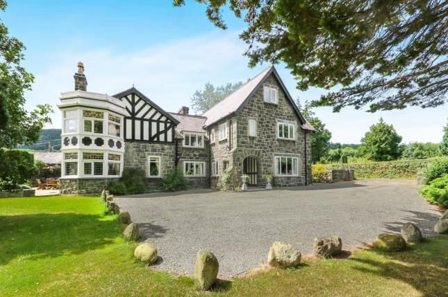 Thumbnail Detached house for sale in Rowen, Conwy, North Wales