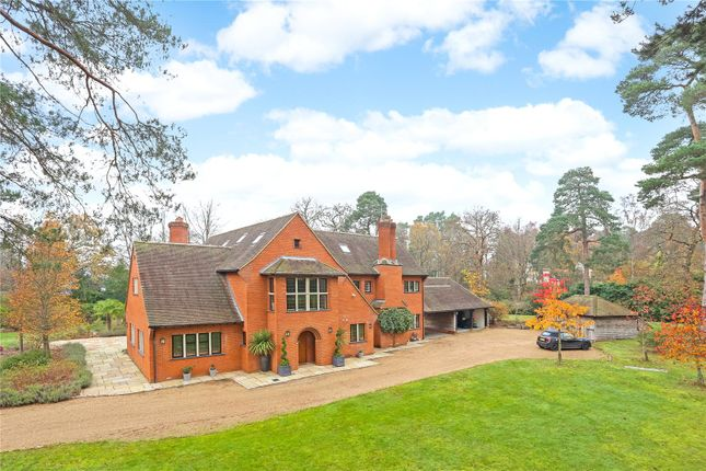 Thumbnail Detached house for sale in Monks Well, Farnham, Surrey