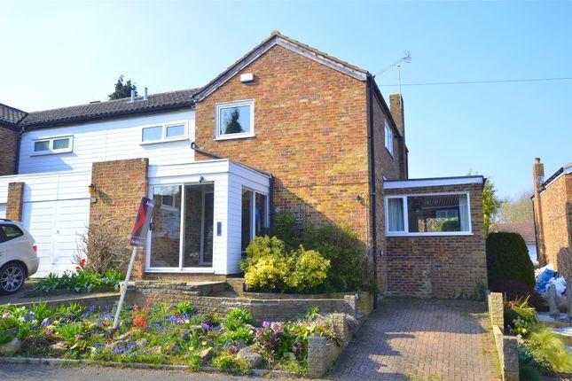 Thumbnail Semi-detached house for sale in The Meadows, Halstead, Sevenoaks, Kent