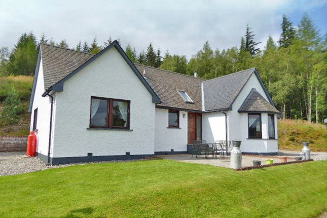 Thumbnail Detached bungalow for sale in Tulloch, Roy Bridge