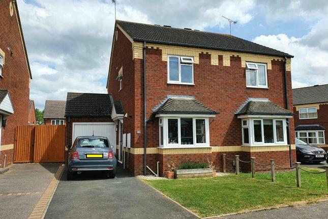 2 bed property for sale in Bolyfant Crescent, Whitnash, Leamington Spa CV31