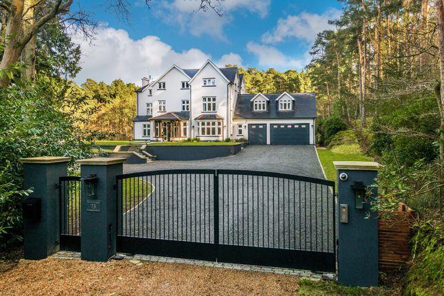 Thumbnail Detached house for sale in Frensham Road, Lower Bourne, Farnham, Surrey