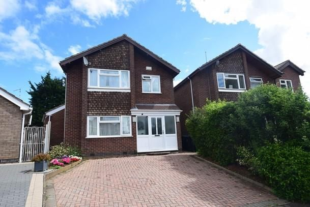 Thumbnail Detached house for sale in Lennon Close, Hillmorton, Rugby