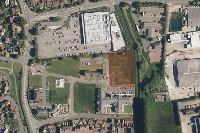 Thumbnail Land for sale in Development Land, Falcon Way, Bourne