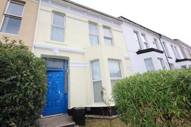 Thumbnail Terraced house to rent in Furzehill Road, Plymouth