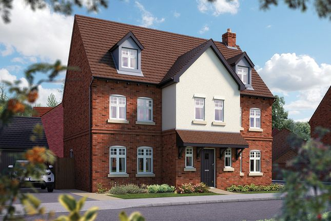 "Thumbnail Detached house for sale in ""The Kingsbury"" at Nottinghamshire, Edwalton"