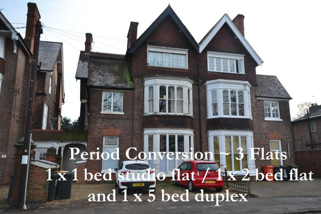 Thumbnail Semi-detached house for sale in Victoria Park Road, Leicester