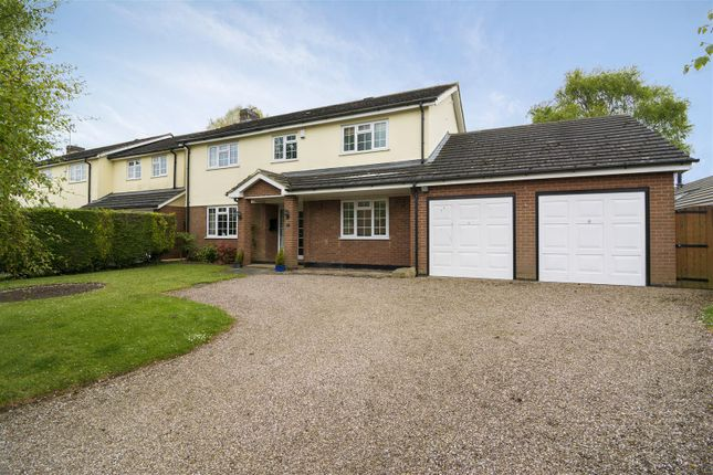Thumbnail Detached house for sale in Rectory Lane, Nailstone, Nuneaton
