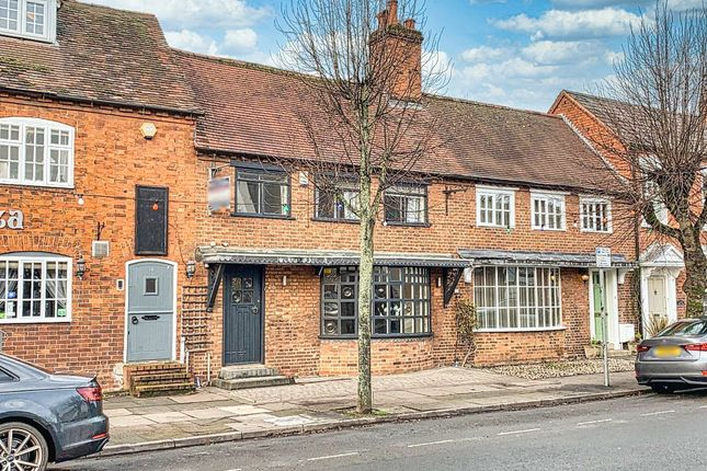 Front View of High Street, Henley-In-Arden, West Midlands B95