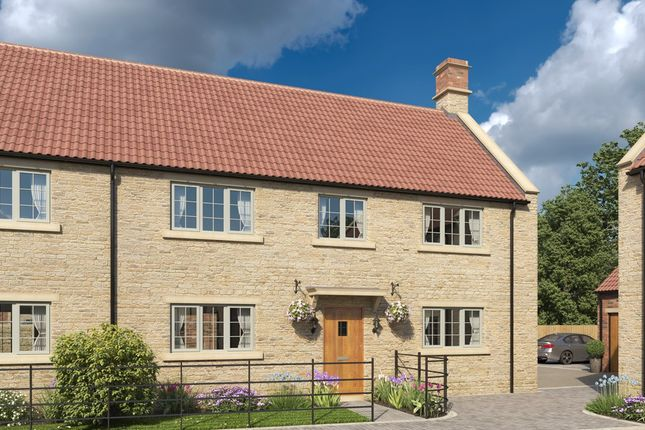 Thumbnail Semi-detached house for sale in Church Farm, Rode