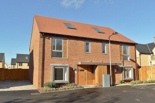 Thumbnail Semi-detached house to rent in Rialto Close, Trumpington, Cambridge