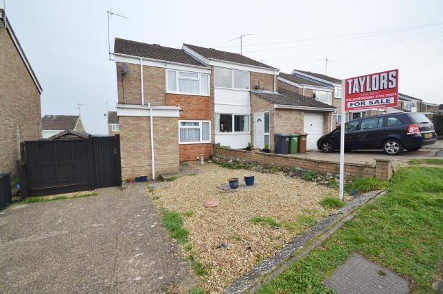 Thumbnail Semi-detached house for sale in Wantage Road, Irchester, Wellingborough, Northamptonshire