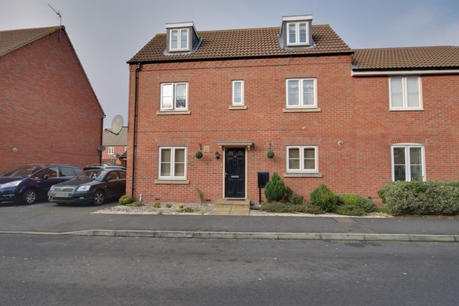 Thumbnail Town house for sale in Babbage Crescent, Corby