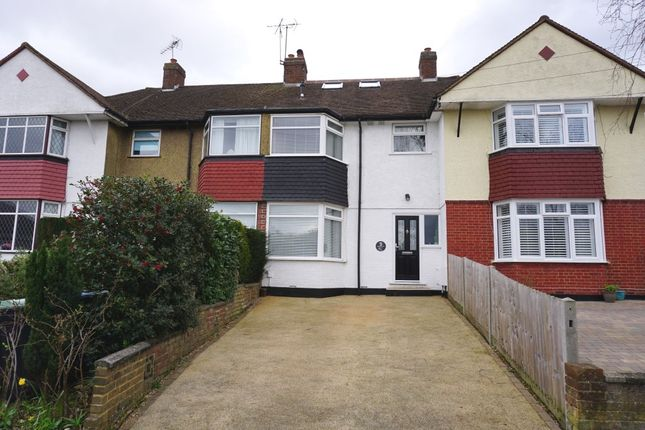Thumbnail Terraced house for sale in Newlands Way, Chessington