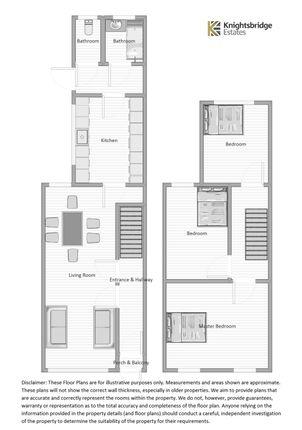 Floor Plan of Norfolk Road, East Ham E6