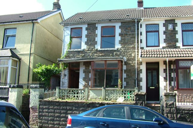Thumbnail Semi-detached house to rent in Bronallt Terrace, Abercwmboi