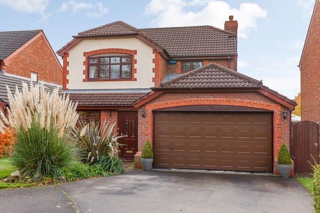 Thumbnail Detached house for sale in Farndale Close, Warrington, Warrington