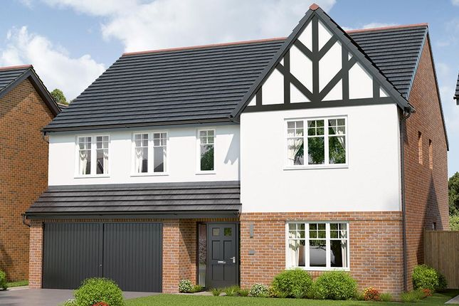 Thumbnail Detached House For Sale In The Kirkham At Berry Hill Mansfield