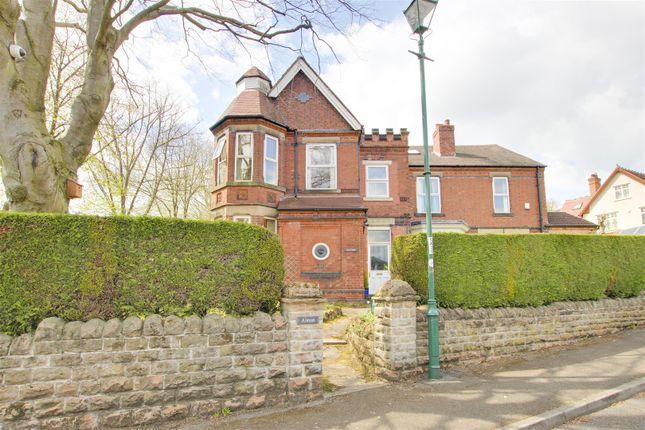 Thumbnail Semi-detached house for sale in Albert Road, Alexandra Park, Nottinghamshire
