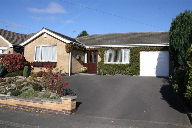 Thumbnail Detached bungalow for sale in Barry Close, Kirby Muxloe, Leicester