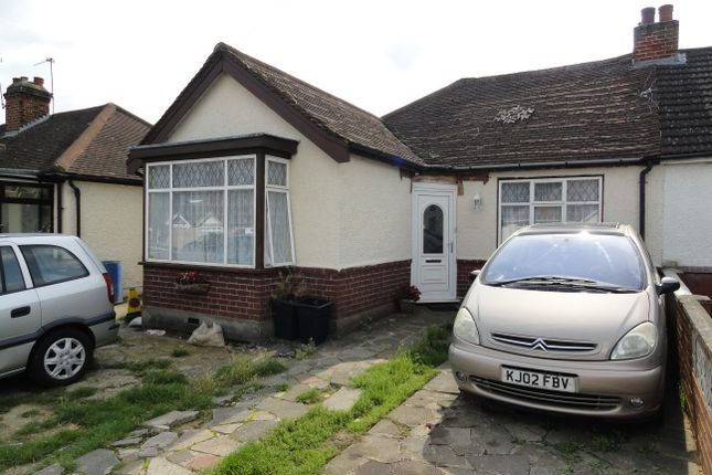 3 bed semi-detached bungalow for sale in Moat Farm Road, Northolt