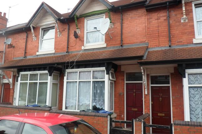 Thumbnail Terraced house for sale in Claremont Road, Smethwick