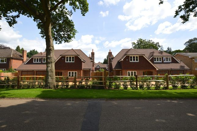 Thumbnail Detached house for sale in Hacketts Lane, Pyrford