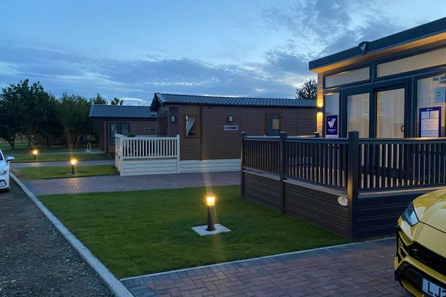 Thumbnail Lodge for sale in Back Road, Newton On Derwent, York