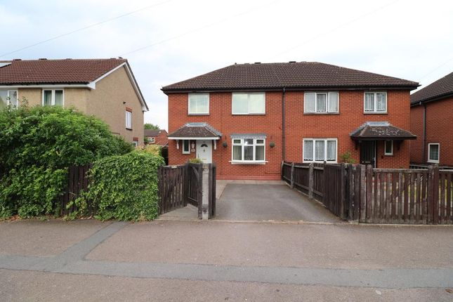 Thumbnail 3 bed semi-detached house for sale in Fairway, Leicester