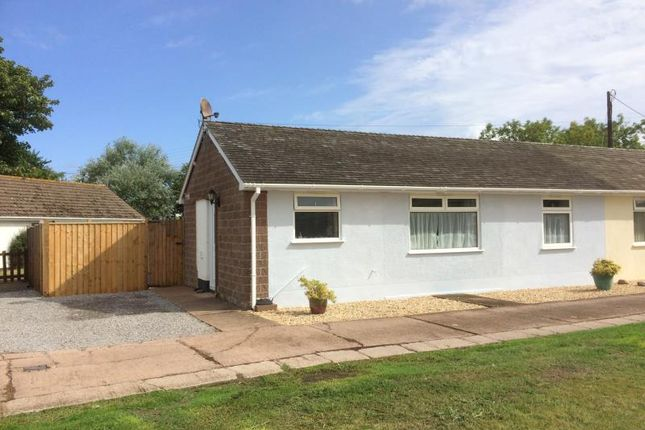 Thumbnail Bungalow for sale in Doniford Meadow, Watchet