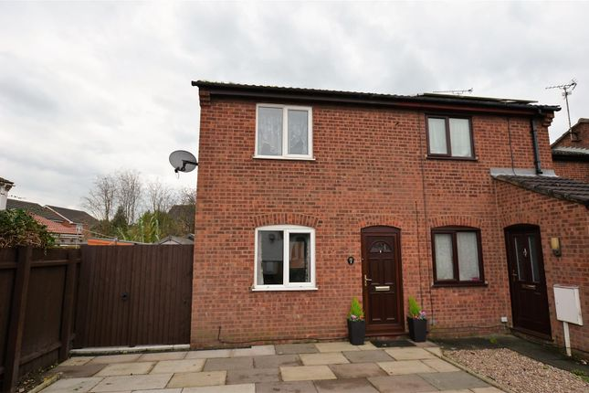 Thumbnail End terrace house to rent in Cheverton Close, Alvaston, Derby