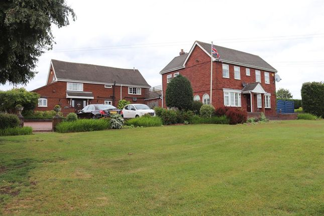 Thumbnail Detached house to rent in Poplars Farm, Walsall Road, Springhill, Lichfield, Staffordshire