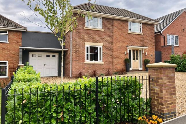 Thumbnail Detached house for sale in Loverock Crescent, Rugby