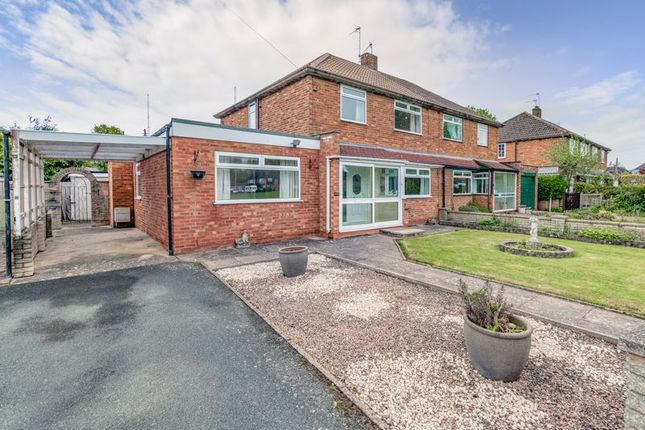 Thumbnail Semi-detached house to rent in St. Richards Road, Wychbold, Droitwich
